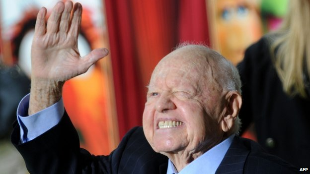 Mickey Rooney in 2011