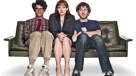 IT Crowd stars Richard Ayoade, Katherine Parkinson and Chris O'Dowd