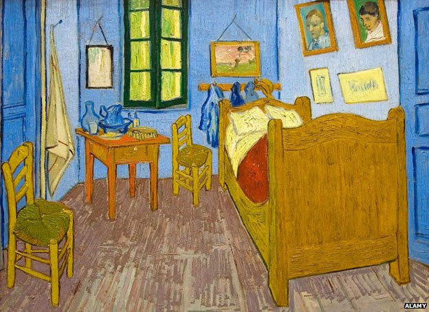 Van Gogh's chairs