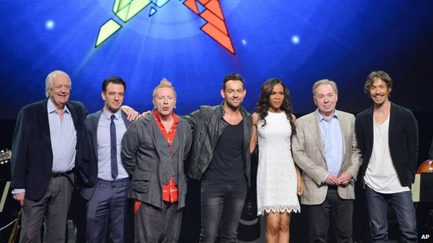 The US cast of Jesus Christ Superstar