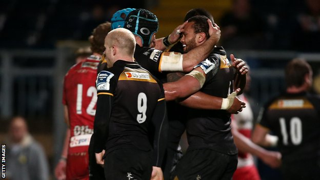 London Wasps celebrate