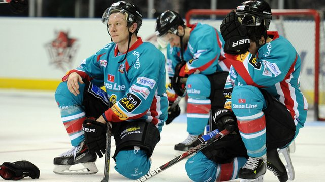Belfast Giants suffer a sudden death over-time play-ff final defeat to Sheffield Steelers