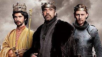 Ben Whishaw, Jeremy Irons and Tom Hiddleston