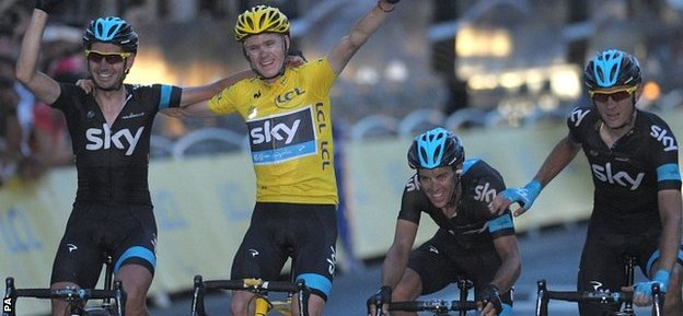 Chris Froome defends his Tour de France title in July