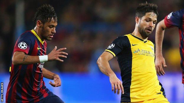 Neymar and Diego