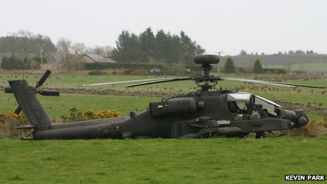 Apache in field