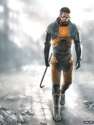 Gordon Freeman, Half-Life