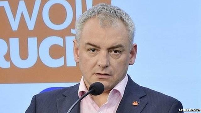 Polish MP Artur Debski