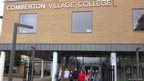 School Reporters from Comberton Village College