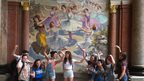 Comberton students sightseeing in Rio
