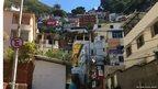 The Santa Marta favela, Rio de Janeiro, Brazil
