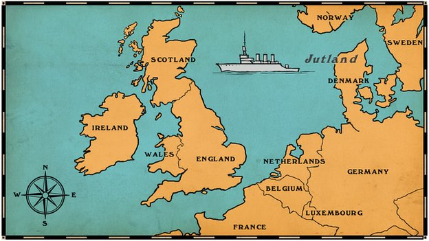 The Battle Of Jutland Thinglink