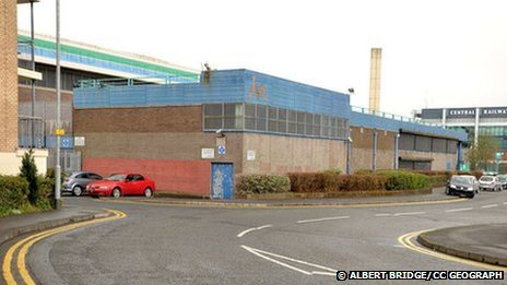 The former Maysfield Leisure Centre in Belfast