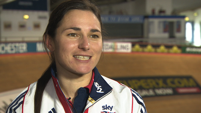 Dame Sarah Storey looks ahead to the Para-cycling Track World Championships