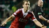Niall McGinn celebrates