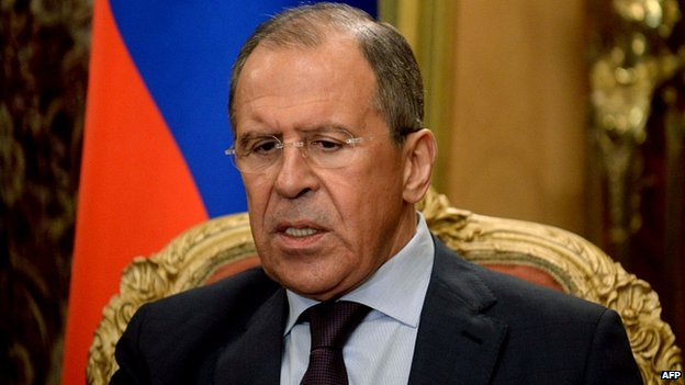 Sergei Lavrov. 7 April 2014