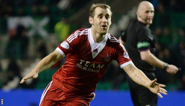 Aberdeen goal hero Niall McGinn