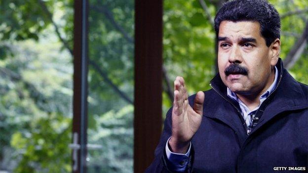 Venezuela's President, Nicolas Maduro