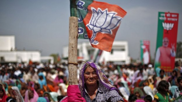 THE BJP Is hoping to defeat the ruling Congress