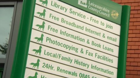Leicestershire County Council libraries