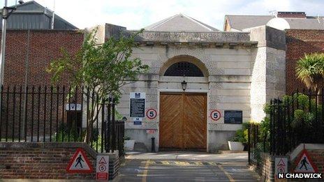 Former Canterbury Prison
