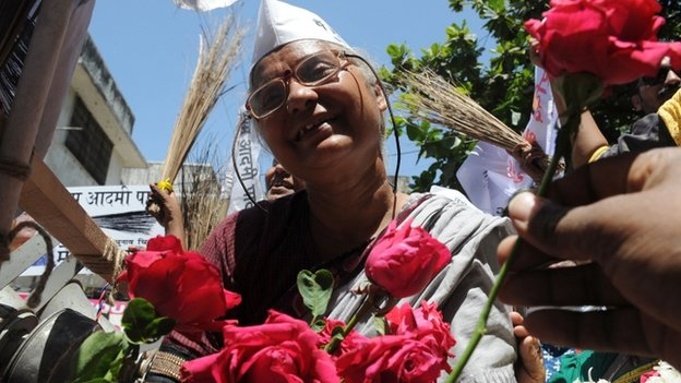 The AAP's Medha Patkar is a well-know social activist