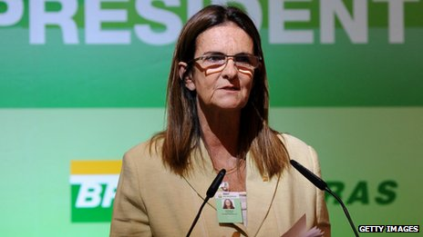 Petrobras president Maria das Gracas Silva Foster says new oil price adjustments will help the firm