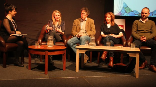 Panel at Celtic Film Festival