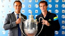 Ross Hutchins and Andy Murray