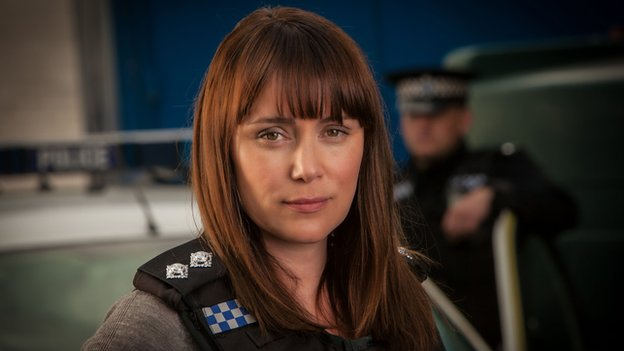 Keeley Hawes as DI Lindsay Denton in Line of Duty