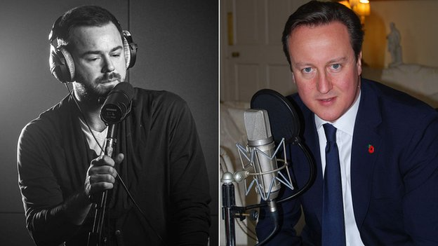 Danny Dyer and PM David Cameron
