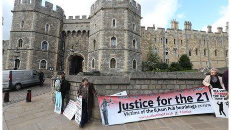 Windsor protests