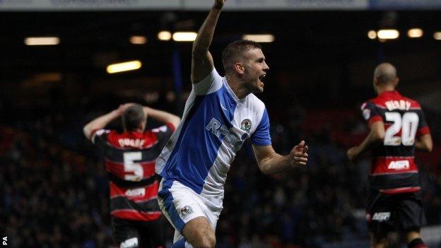 Blackburn's Tommy Spurr