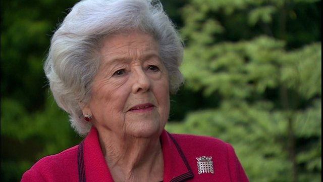 Lady Betty Boothroyd