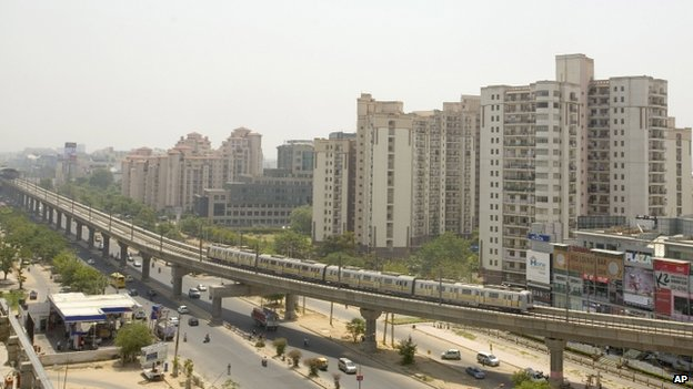 Gurgaon city