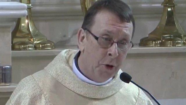 singing priests hallelujah wows wedding guests bbc news