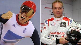 Sir Chris Hoy - cyclist and motor racer