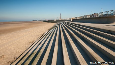 Blackpool flood defences