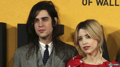 Peaches Geldof with Thomas Cohen
