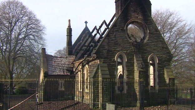 Eastwood cemetery chapel