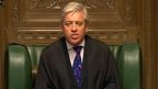 John Bercow, Speaker of the House of Commons