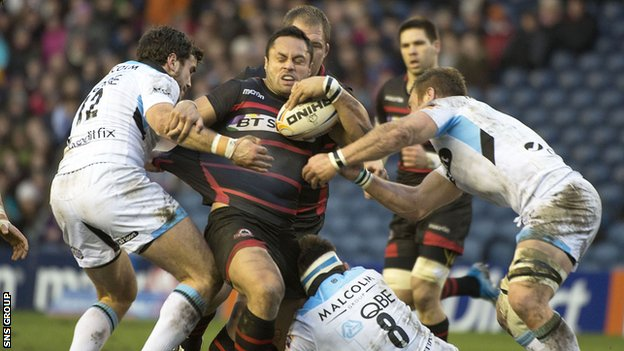 Edinburgh and Glasgow are Scotland's pro-teams