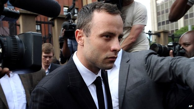 Oscar Pistorius leaves the Pretoria court - 9 April 2014