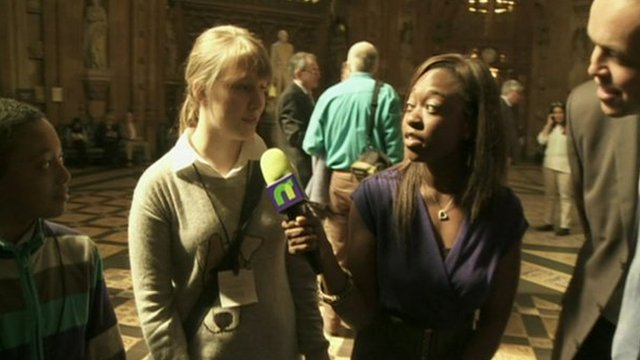 Ayshah and Newsround viewers quiz MPs after Prime Ministers Questions
