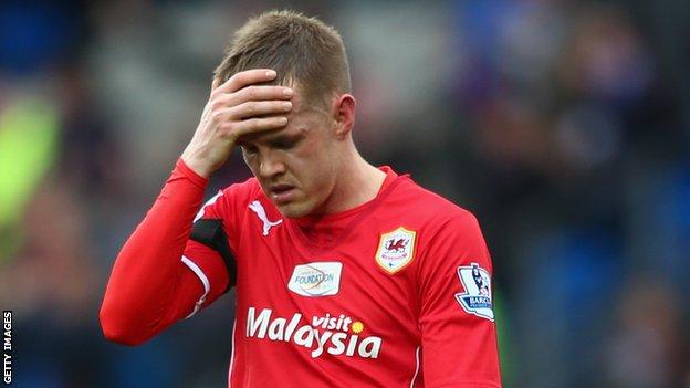Cardiff City winger Craig Noone