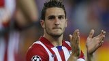 Koke of Atletico Madrid
