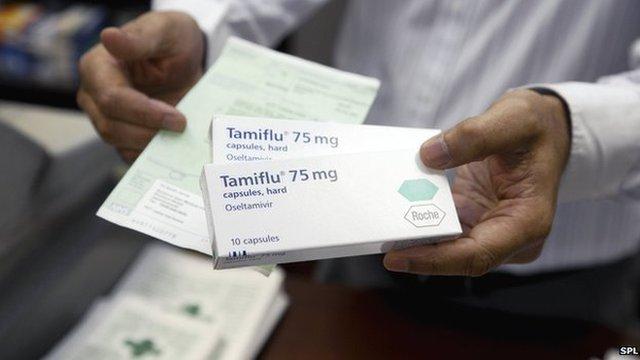 Tamiflu packet