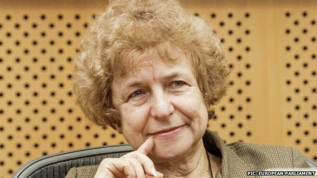 Latvian MEP Tatjana Zdanoka (pic: European Parliament website)