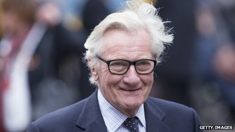 Former Conservative Cabinet Minister Michael Heseltine