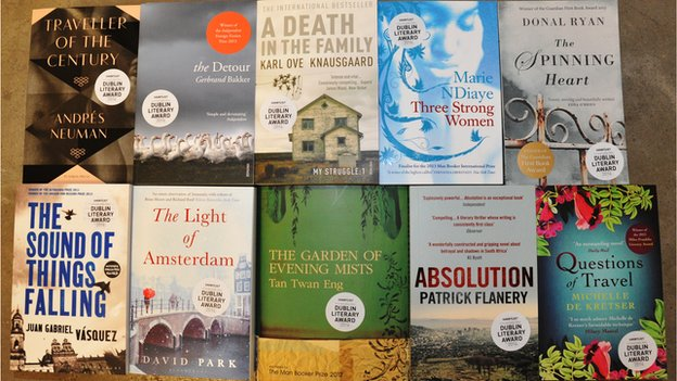 The International Impac Dublin Literary Prize shortlist